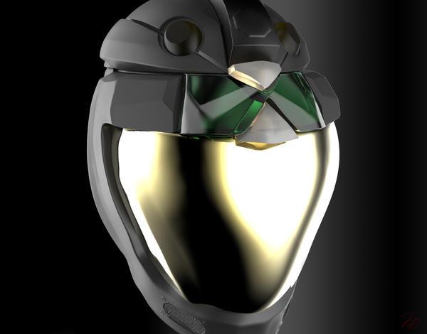 Ulysses Character Helmet 3D Concept